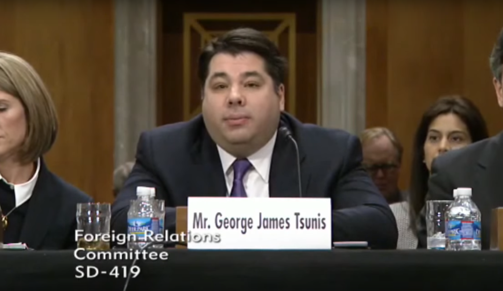 George Tsunis managed to show an incredible lack of knowledge of Norway during his hearing (Photo: Youtube / The Nordic Page)