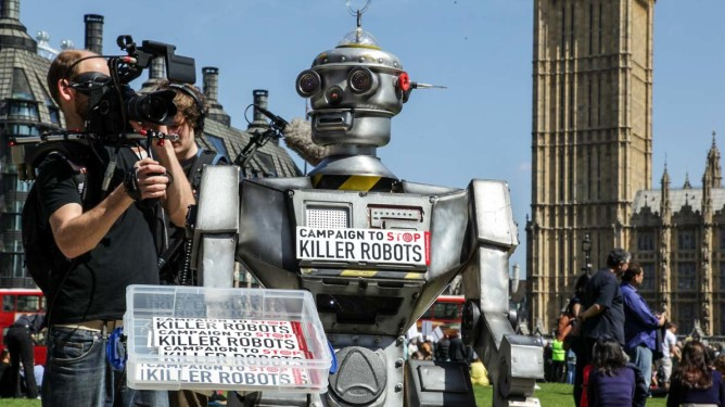 Sharron Ward/Campaign to Stop Killer Robots