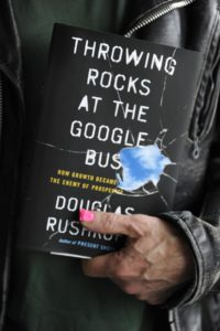 "Douglas Rushkoffs ""Throwing rocks at the Google bus"""