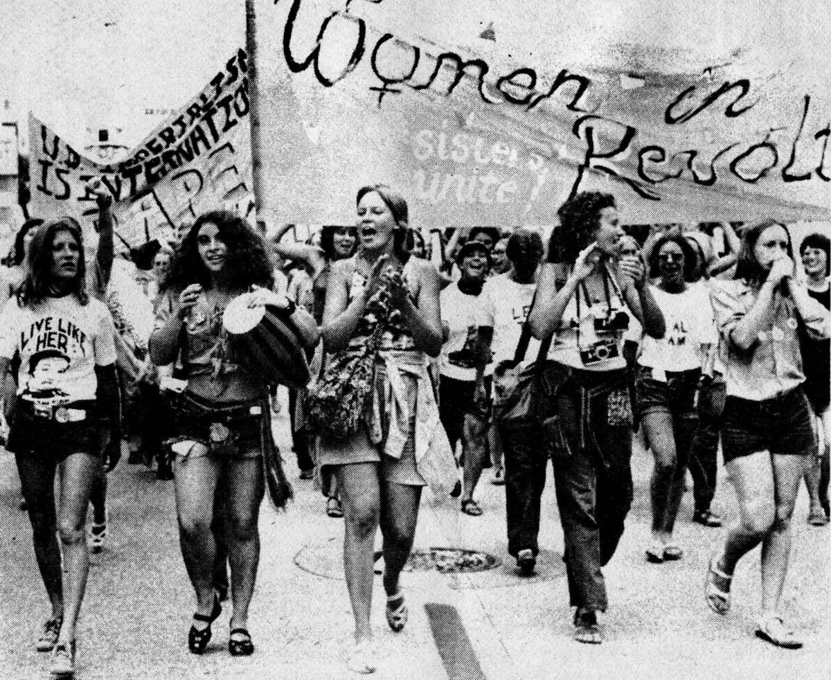 Women March Against Nixon, 1972. Foto: Montgomery Spark/Flickr cc
