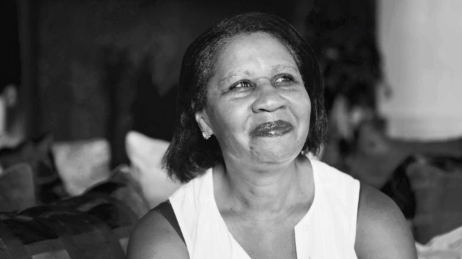 Jamaica Kincaid at Le Conversazioni in Capri, Italy. Photographed 8th July 2012  Picture by Steve Bisgrove/Writer Pictures  WORLD RIGHTS