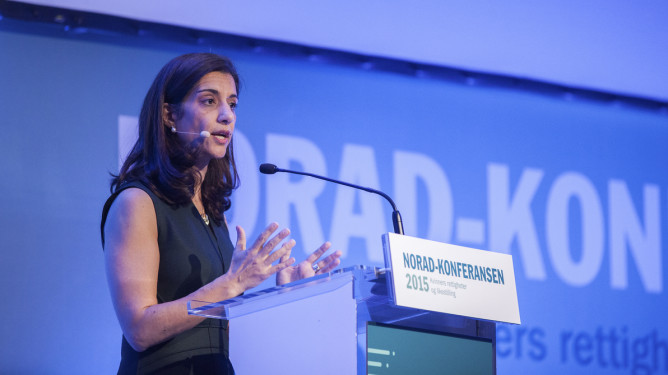 Norad Conference 2015 Women rights & gender equality   (photo: Fredrik Naumann/Felix Features)