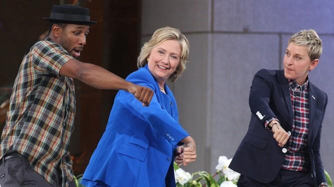 Hillary Clinton Ellen DeGeneres show