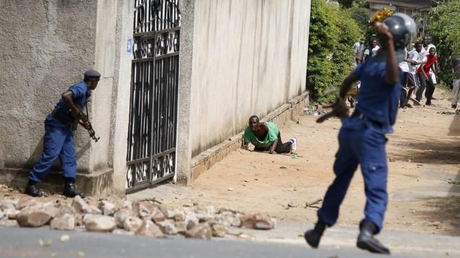 Burundi opprør