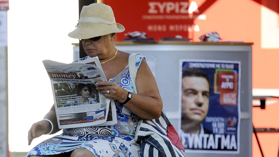Mediekrise i Hellas