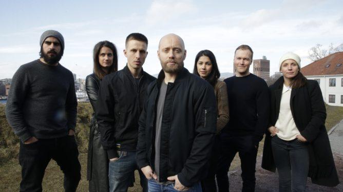 "Bildet viser skuespillerne i den nye TV-serien ""Nobel"". Foto: Berit Roald / NTB scanpix"