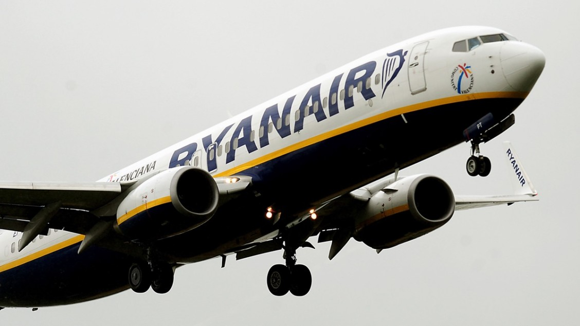 File photo dated 02/07/12 of a Ryanair plane, as the airline said profits jumped 7% in the first half of the year as it increased the number of passengers it expects to carry by 2024.