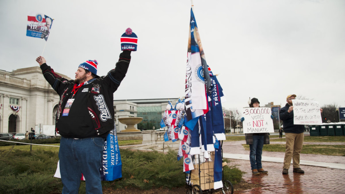 Splittelse: Den politiske samtalen i USA har blitt svært polarisert. Foto: Mattias Lundblad.