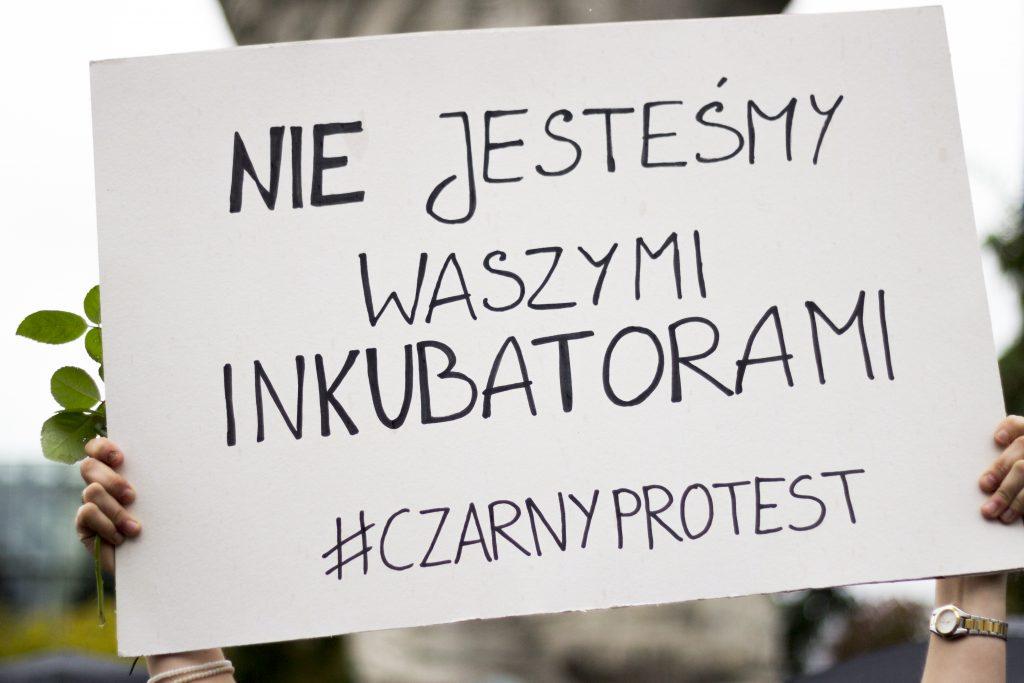 Czarny-protesten Polen