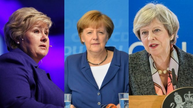 Solberg mer som May enn Merkel