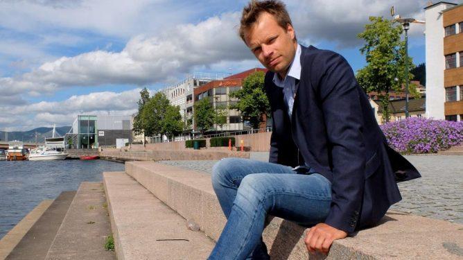 Jon Helgheim (Frp) i Drammen