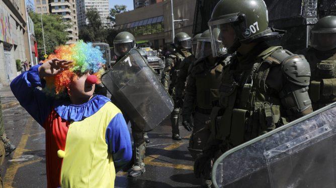 Chile demonstrasjoner