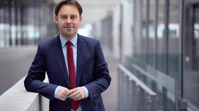 Jens Zimmermann, bundestag-representant SPD