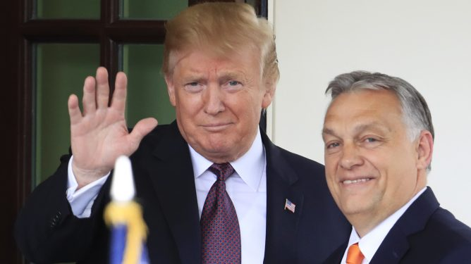 Donald Trump, Viktor Orban
