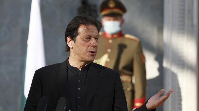 Pakistans statsminister Imran Khan
