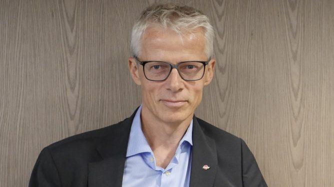 Bildet viser Arbeids- og velferdsdirektør Hans Christian Holte