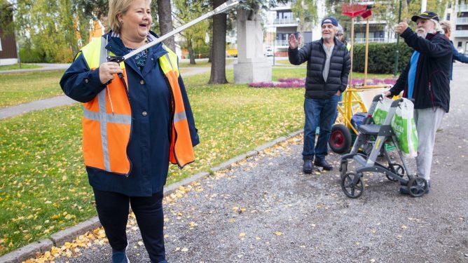 Erna Solberg forstår ikke økonomisk ulikhet.
