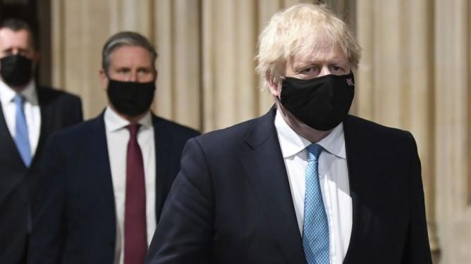 Labour leder Keir Starmer og statsminister Boris Johnson