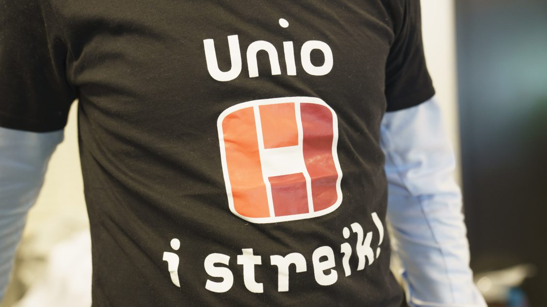 Unio streik